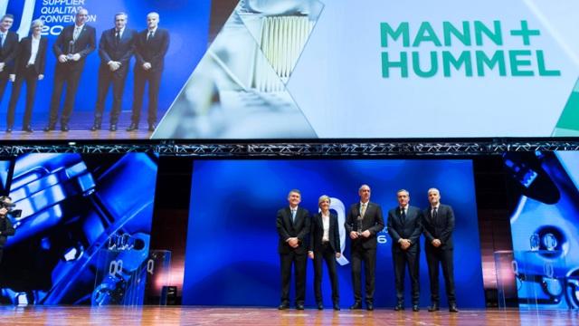 MANN+HUMMEL вновь стал лучшим поставщиком Fiat Chrysler Automobiles