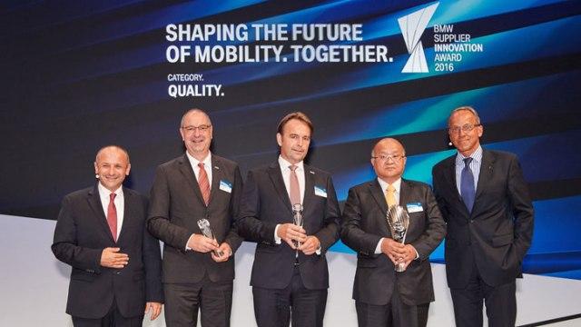 MANN+HUMMEL в тройке лучших поставщиков инноваций BMW Group