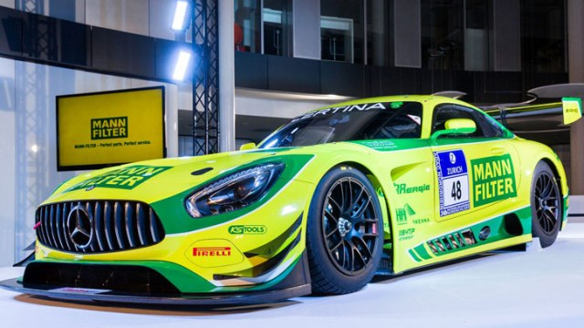 Гоночная команда MANN+HUMMEL примет участие в ADAC GT Masters и Blancpain GT Endurance