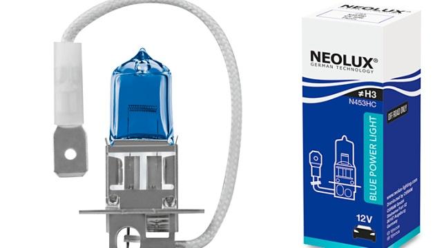 Новинка NEOLUX: «галогенки» BLUE POWER LIGHT с кристально белым светом