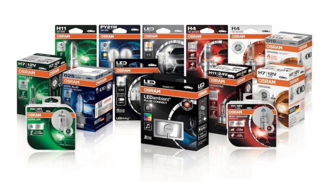 Новая упаковка автомобильных ламп OSRAM упрощает выбор